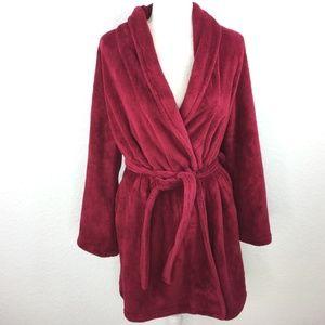 Blu Chico Red Bath Robe Women One Size